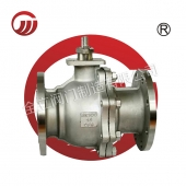Metal seal flange ball valve Q41Y